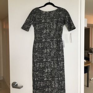 Classic Marble Knit Dress
